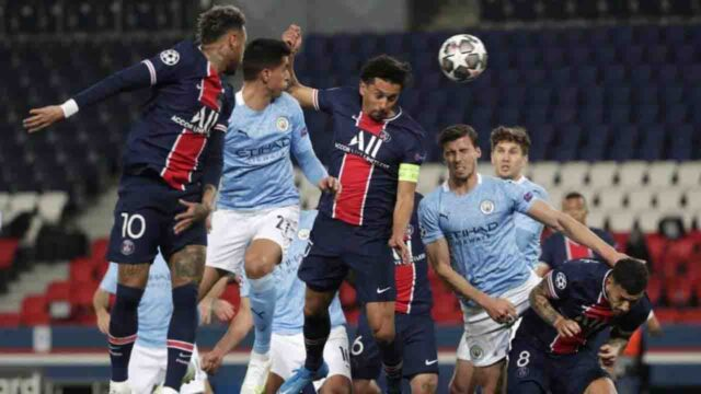 manchester city and psg UCL semifinal