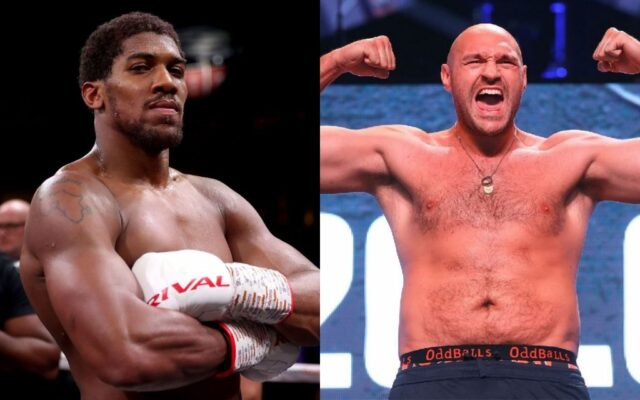 Tyson Fury wants to expose 'fake' Anthony Joshua in their boxing fight