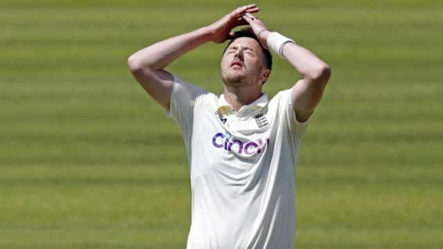England suspend Ollie Robinson from international cricket over racist tweets