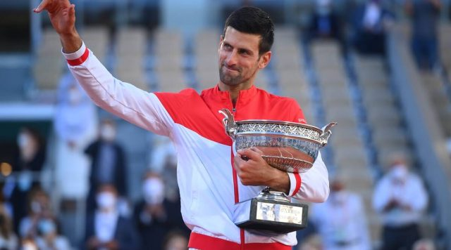 Novak Djokovic poised to win Golden Grand Slam after French Open success