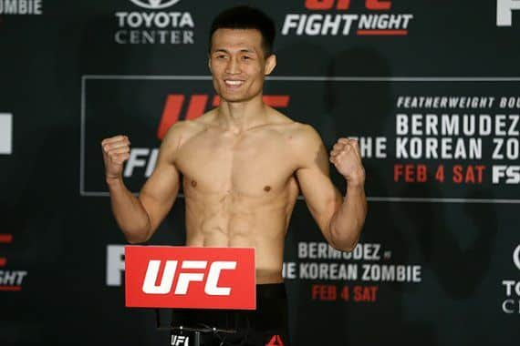 Korean Zombie takes a jibe at Max Holloway after win over dan ige