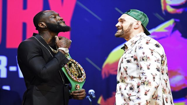 Wilder fight delayed after Tyson Fury tests COVID positive