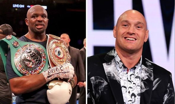 Dillian Whyte wants to replace Fury in October fight against Wilder
