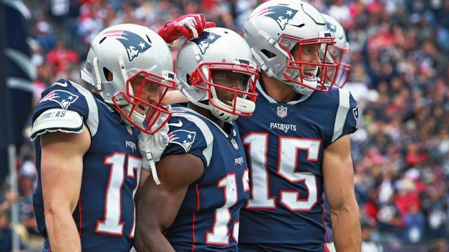Here's schedule of New England Patriots for next season