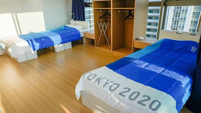 Tokyo olympic Anti Sex bed