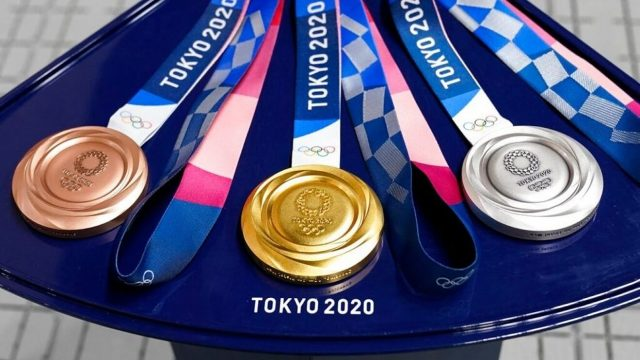 olympic medal count 2021