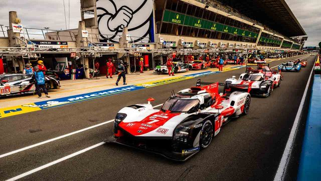 24 Hours of Le Mans Live Broadcast