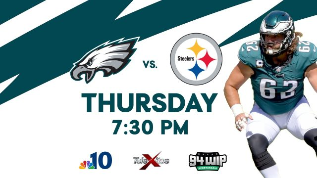 Eagles vs Steelers Game Broadcast Guide