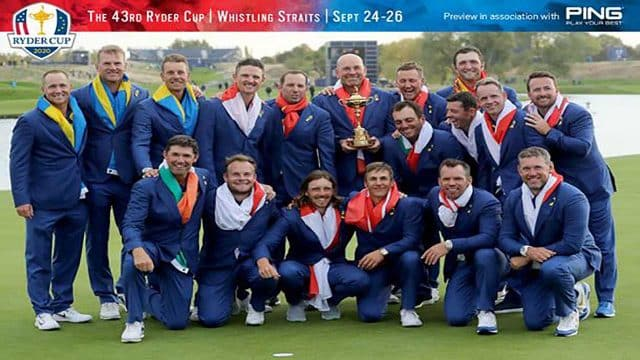 Ryder Cup 2021 Players List